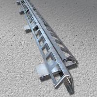 ПДШ Вета-профіль β-130 : min висота (h) 130мм, довжина (L) 3м товщина металу 2,5 мм