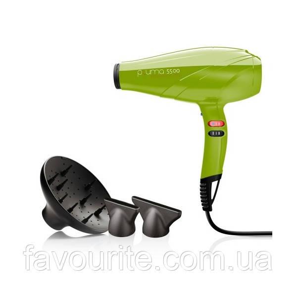 Фен для волос Pluma 5500 ENDURANCE Ion Зеленый