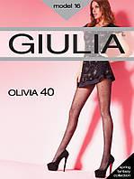 """Колготки женские """"Giulia"""" в горошек 40DEN"""