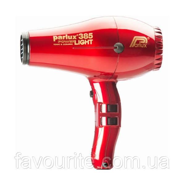 Фен для волос Parlux 385 PowerLight Ionic and Ceramic P85ITR Красный