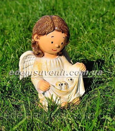 Фигура Ангелок с птенцами, фото 2