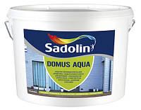 Краска для деревянных фасадов Sadolin DOMUS AQUA10л(Садолин Домус Аква)