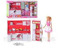Игровой набор Кукла Дефа DEFA Lucy c кухней