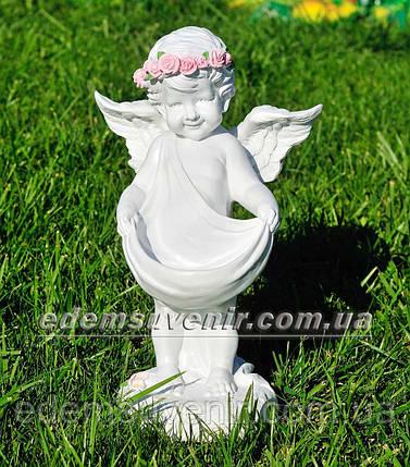 Фигура Купидон (Ср) цветочник, фото 2