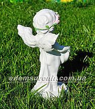 Фигура Купидон (Ср) цветочник, фото 3