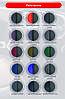 Чехлы на сиденья Хендай Матрикс (Hyundai Matrix) (универсальные, кожзам/автоткань, пилот), фото 9