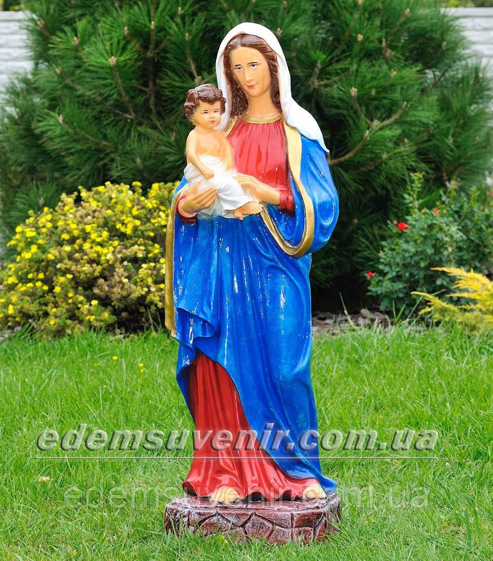 Фигура Дева Мария с младенцем