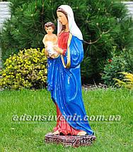 Фигура Дева Мария с младенцем, фото 2