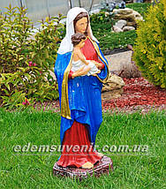 Фигура Дева Мария с младенцем, фото 3