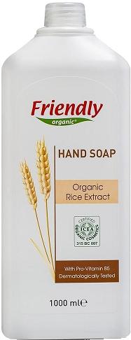 Органическое жидкое мыло для рук Friendly organic 1000 мл