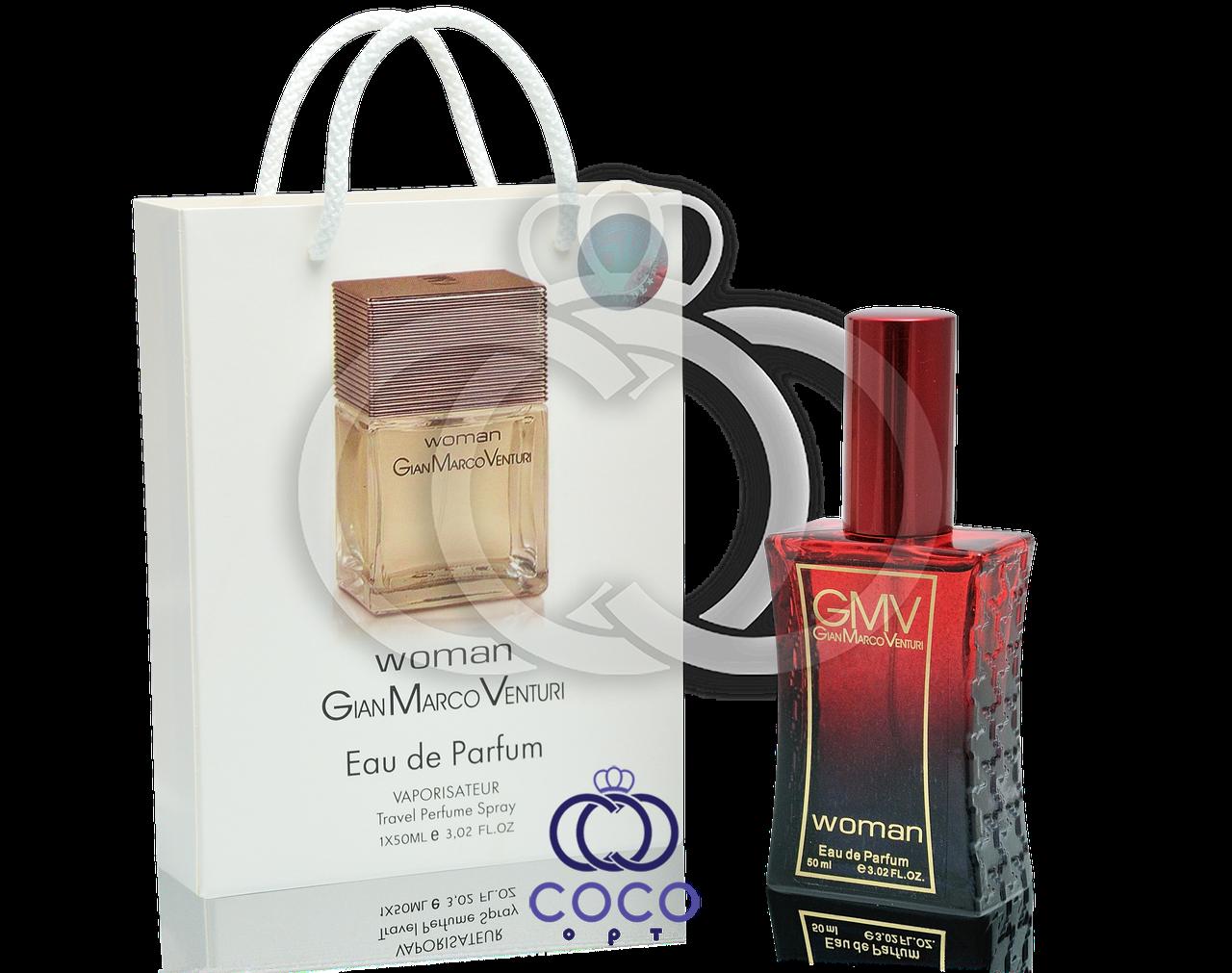 Женская парфюмированная вода Gian Marco Venturi Woman в подарочной упаковке 50 мл