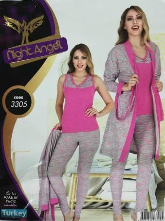 Комплект одежды для дома  3в1 Night Angel