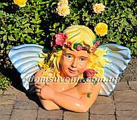 Фигура Эльфина с розой