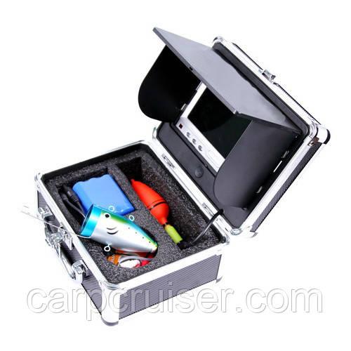 Подводная видеокамера Carp Cruiser CC7-iR/W15-S с жестким раскладнымсолнцезащитным козырьком для рыбалки