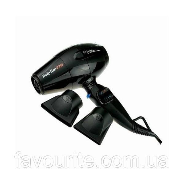 Фен BaByliss Pro Murano Ionic BAB6160INE Черный