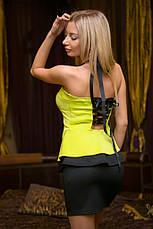 Платье дайвинг двойная баска, фото 2