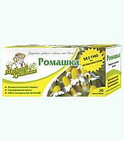 Фиточай натуральный в пакетиках Ромашка (20пак)
