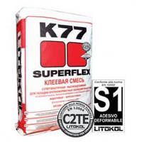 SUPERFLEX K77 БЕЛЫЙ LITOKOL 25КГ