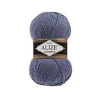 Пряжа для вязания Alize Lanagold 203 джинс меланж (Ализе Лана голд)