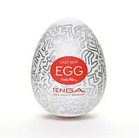 Мастурбатор яйцо Tenga Keith Haring EGG Party, фото 1