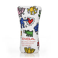 Мастурбатор Tenga Keith Haring Soft Tube Cup (мягкая подушечка) сдавливаемый, фото 1