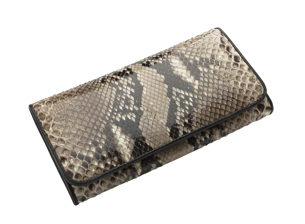 Кошелек из кожи питона  Ekzotic Leather натуральный (snw62)