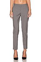 Женские серые шерстяные брюки Theory, фото 1