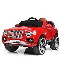 Электромобиль детский M 3586EBLR-3 Bentley красный Гарантия качества Быстрая доставка
