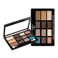Палитра теней для век Malva «Pro Eyeshadow Contour & Highlight» M-493 №1