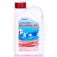 Антифриз МФК «NordWay-40» (1 кг) Красный