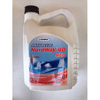 Антифриз МФК «NordWay-40» (5 кг) Красный
