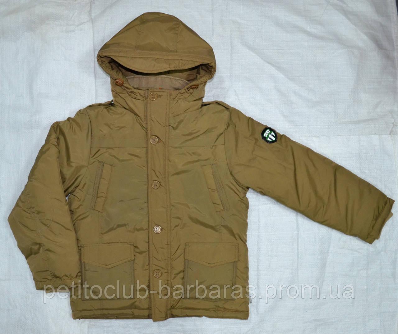 Куртка зимняя для мальчика Mariuzs бежевая (QuadriFoglio, Польша)