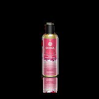 Массажное масло DONA Massage Oil FLIRTY - BLUSHING BERRY (110 мл) с феромонами и афродизиаками