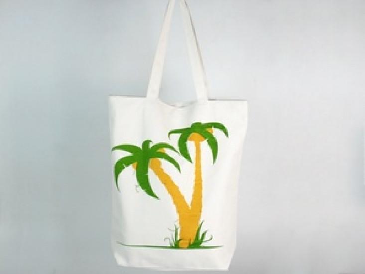 0112afffebd7 Позитивная сумка Floral Пальмы Отличный летний вариант Комфортный удобный  аксессуар на каждый день Код: КГ6509