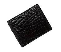 Гаманець зі шкіри крокодила Ekzotic Leather Чорний (cw34_3), фото 1