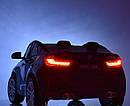Двомісний дитячий електромобіль Джип BMW X6, Шкіра, EVA гума, Амортизатори, дитячий електромобіль, фото 4