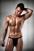 Мужские стринги Passion 005 THONG black S/M, фото 1