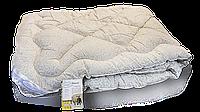 Одеяло стеганое 140х205см, 100% шерсть, кремовое, ТМ Vladi, 2280
