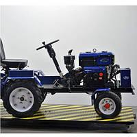 Минитрактор Добрыня дизельный Силач-119 (12,6 л.с. + фреза гидравлическая тракторная)