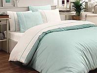 Комплект постельного белья, сатин, мятный, 200*220, MRP-001