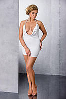 4811a10bcdb Сексуальное белое платье большого размера MIRACLE CHEMISE white 4XL 5XL -  Passion