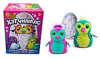 Детская интерактивная игрушка говорящий друг Хетчималс пингвин в яйце Hatchimals 002365 Фиолетовый