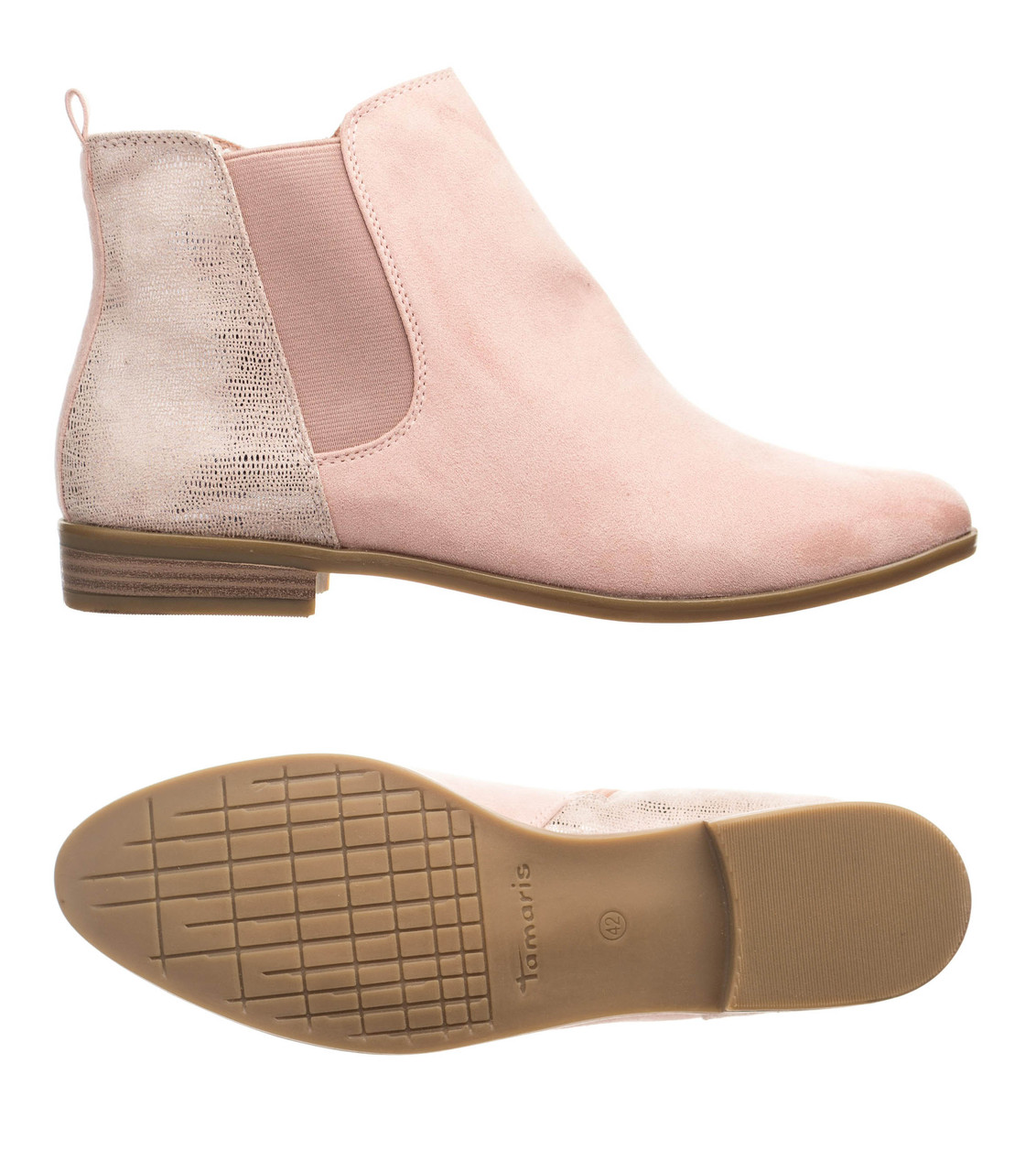 Жіночі черевики Tamaris 42 Pink
