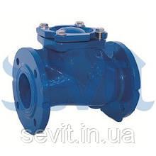 Клапан зворотний кульовий фланцевий C068 TIS DN400 PN10 (ДУ400 РУ10) ТІС