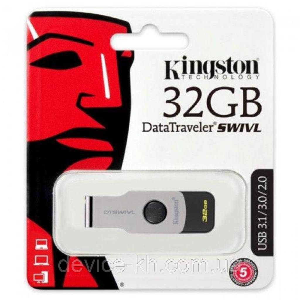 """Накопитель USB flash 32ГБ Kingston """"DataTraveler SWIVL"""" DTSWIVL/32GB Original"""
