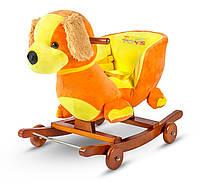 Детская плюшевая качалка-каталка 3 в 1 Tobi Toys Собачка, фото 1