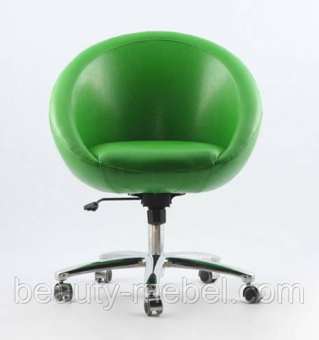 Кресло Marbino Office Sancafe, зеленое