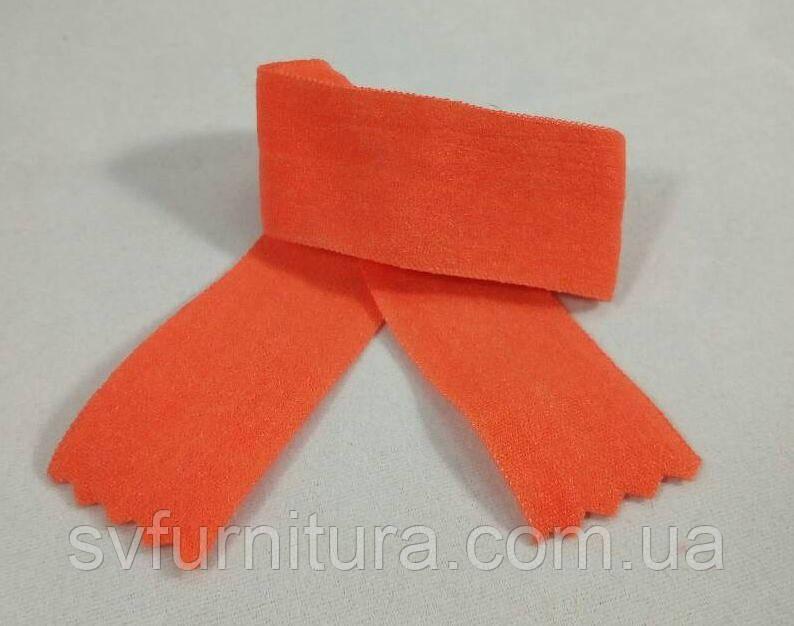 Резинка окантовочная №3 оранжевый