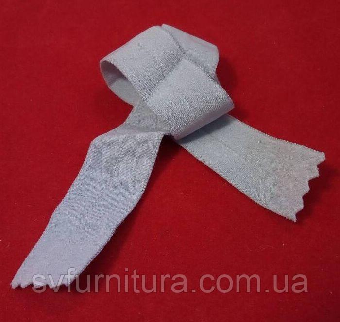 Резинка окантовочная серый