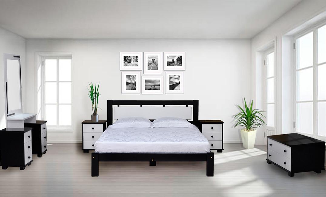Спальня з натурального дерева Еріка Скіф